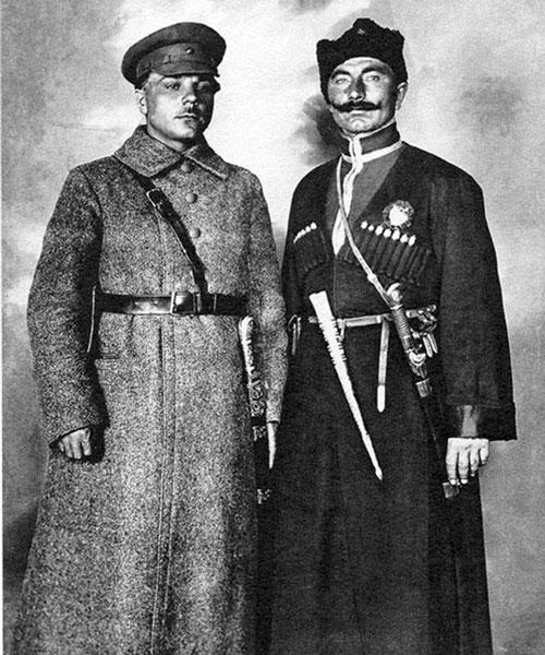 Ворошилов и Буденный. 1919 г.