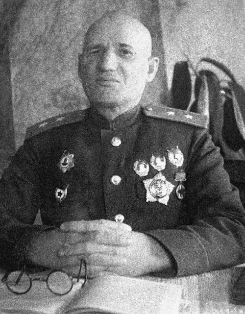 Генерал-лейтенант Крюченкин. 1943 г.