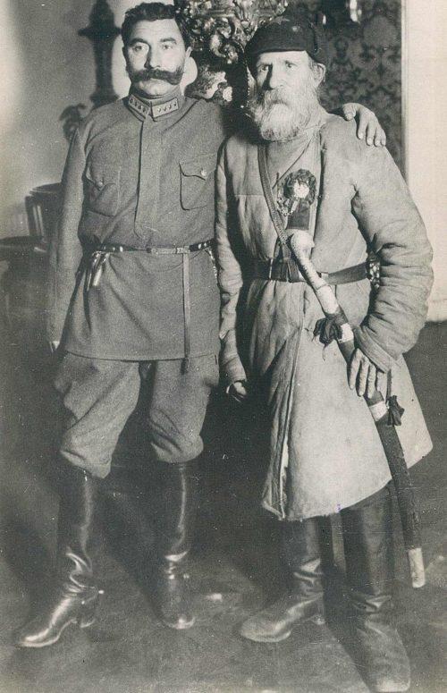 Семён Буденный и Фёдор Гуляев. 1922 г.