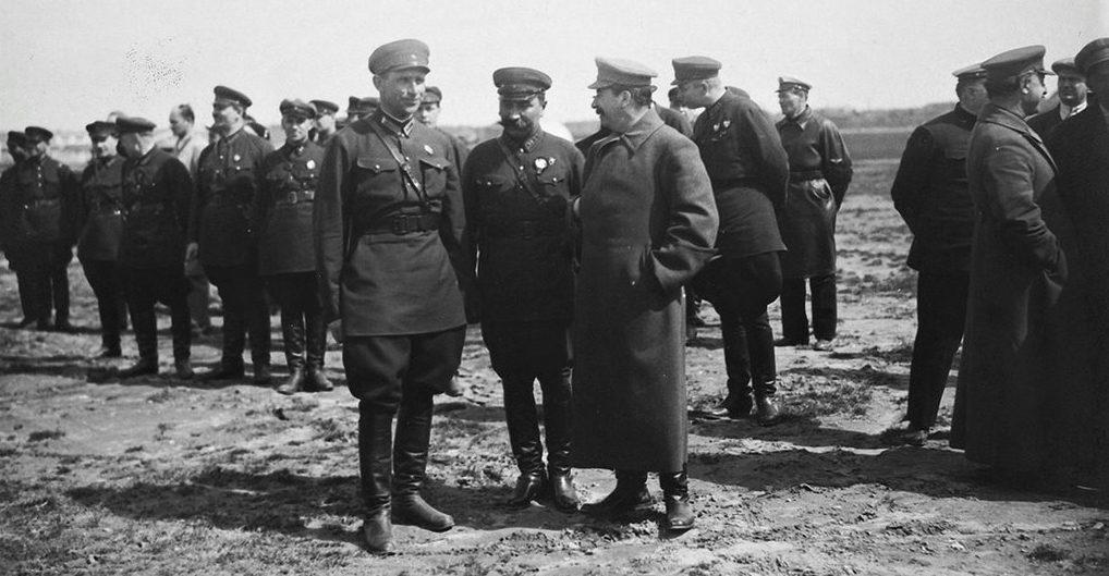 И.В. Сталин и С.М. Будённый. 1933 г.