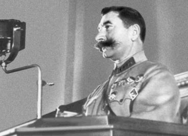Буденный на VII Всесоюзном съезде Советов. 1935 г.