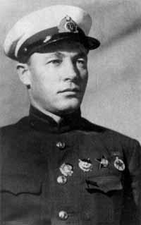 Командующий Тихоокеанским флотом, флагман флота 2-го ранга Кузнецов. 1938 г.
