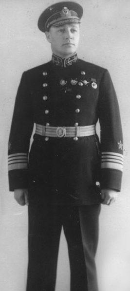 Кузнецов - флагман флота 2-го ранга. 1939 г.