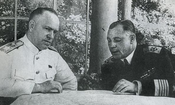 Н. Г. Кузнецов на Потсдамской конференции. 1945 г.