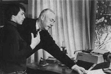 Кузнецов на даче. 1972 г.