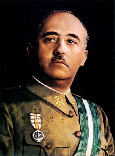 Генерал Франсиско Франко.