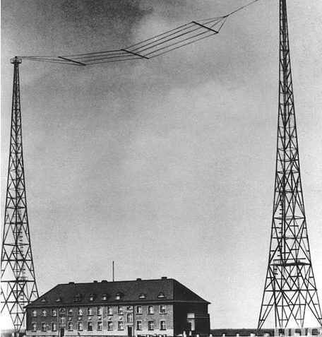Радиостанция в Гляйвице. 1939 г.