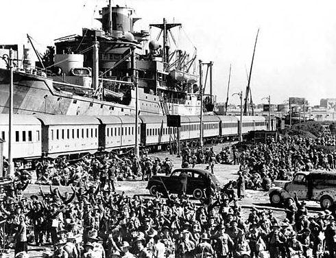 Отправка 6-й австралийской дивизии в Грецию. Александрия, апрель 1941 г.