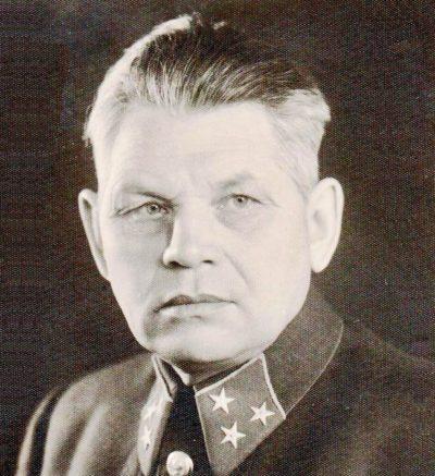 Генерал-лейтенант Рябышев. 1940 г.