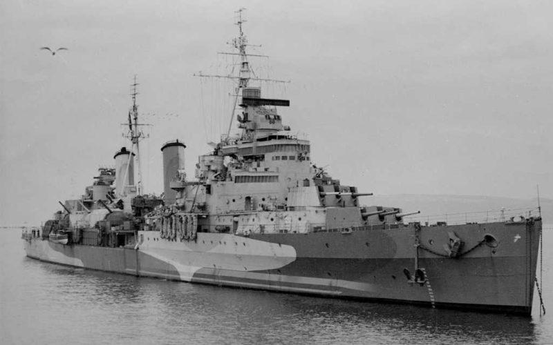 Легкий крейсер «Edinburgh».