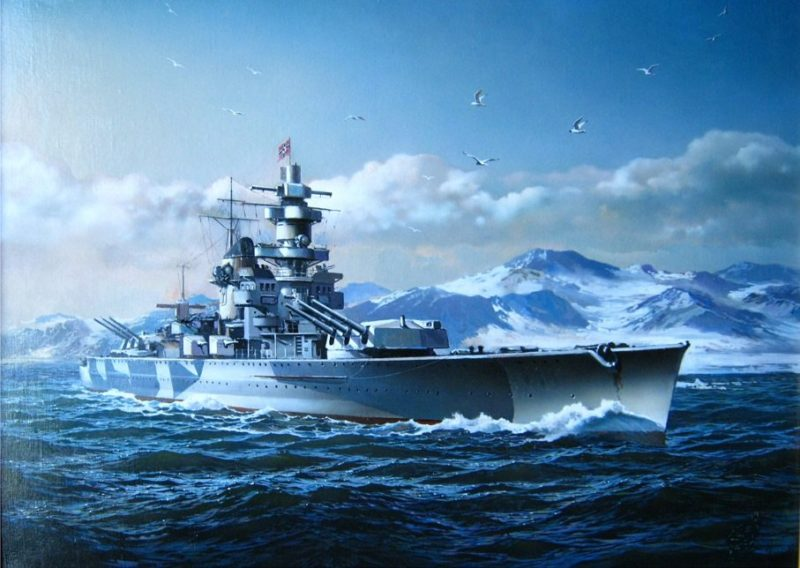 Карманный линкор «Адмирал Шеер».