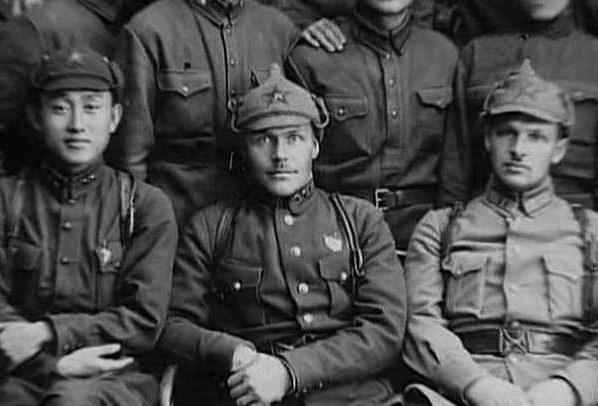 Павлов среди однокурсников. 1930 г.