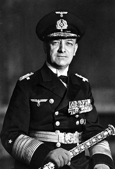 Эрих Редер, командующий Кригсмарине, идеолог «План Z».