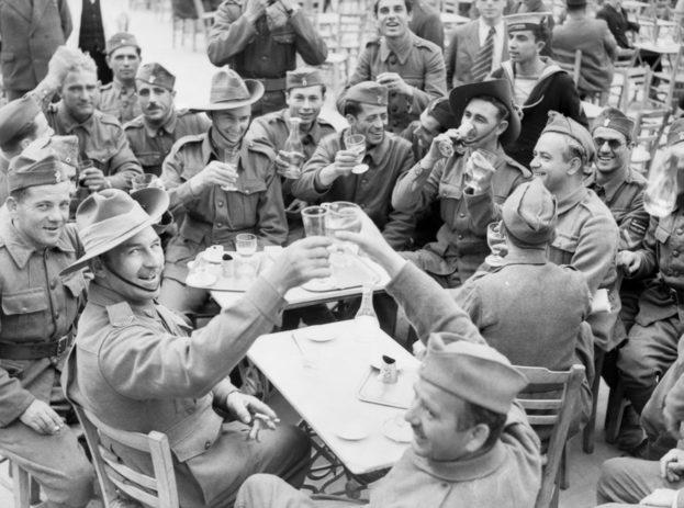 Новозеландские войска в Греции.