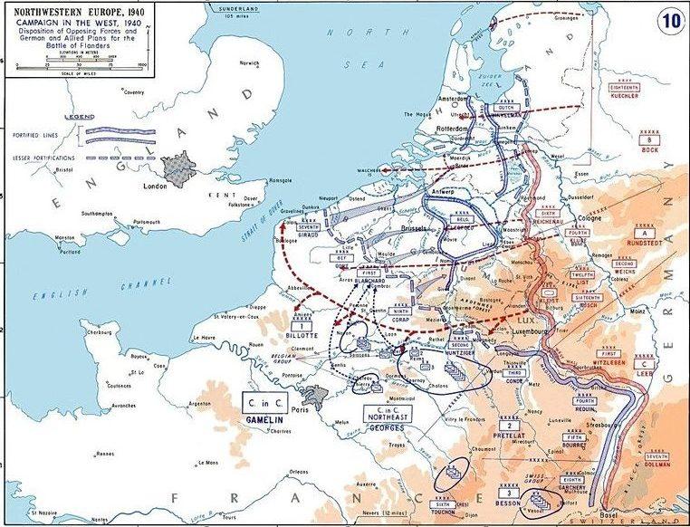 «План Манштейна», ставший основой «Плана Гельб».