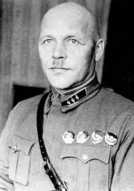 Комкор Павлов. 1937 г.