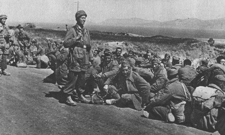 Военнопленные греки.