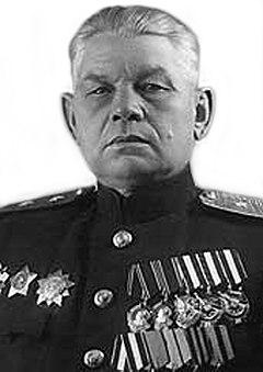 Генерал-лейтенант Рябышев. 1946 г.