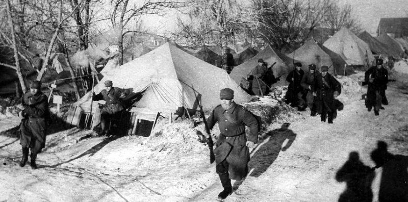 В Тоцких лагерях, 6-я пехотная дивизия «Армии Андерса».