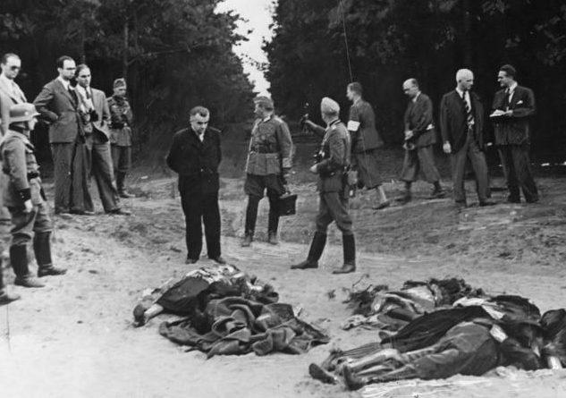Немецкое расследование на месте преступления. 5 сентября 1939 года.