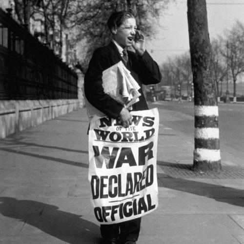 Французские газеты о начале войны.