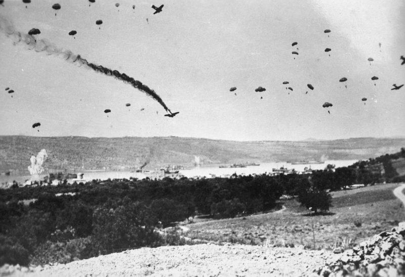 Выброска немецкого десанта на Крит.