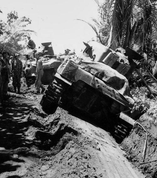 Зачистка джунглей от японских снайперов.