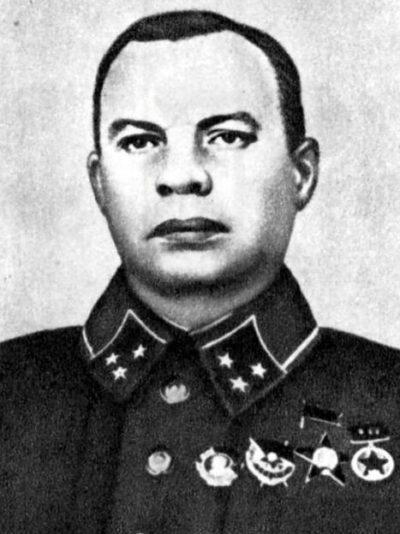 Генерал-лейтенант Хозин. 1940 г.