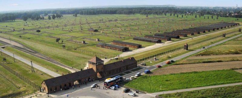 Музей на территории лагеря «Аушвиц II».