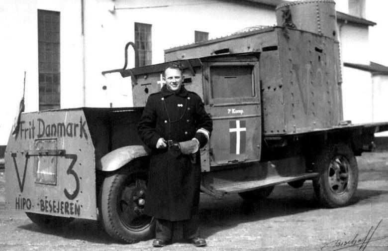 «Броневик» датского Сопротивления.