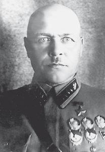 Командарм 2-го ранга Павлов. 1940 г.