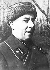 Генерал-майор Свиридов - командующий 67-й армией. 1942 г.