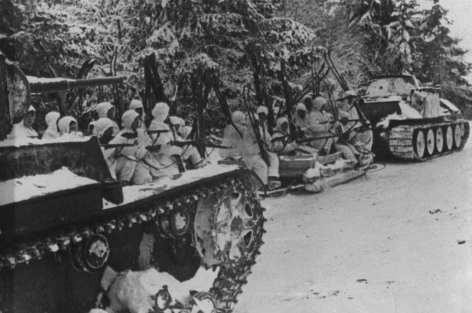 Наступление советских войск. Апрель 1942 г.