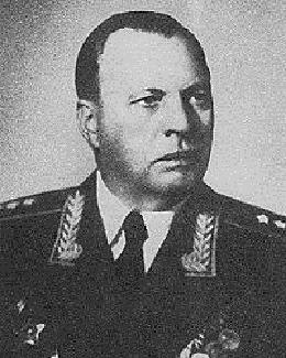 Генерал-полковник Хозин. 1960 г.