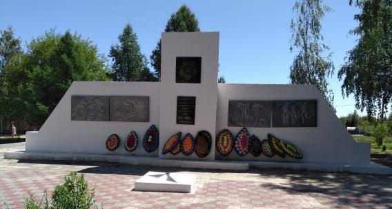 х. Мещеряковский Верхнедонского р-на. Мемориал по улице Плешакова 13б, установленный в 1951 году в память о погибших земляках.