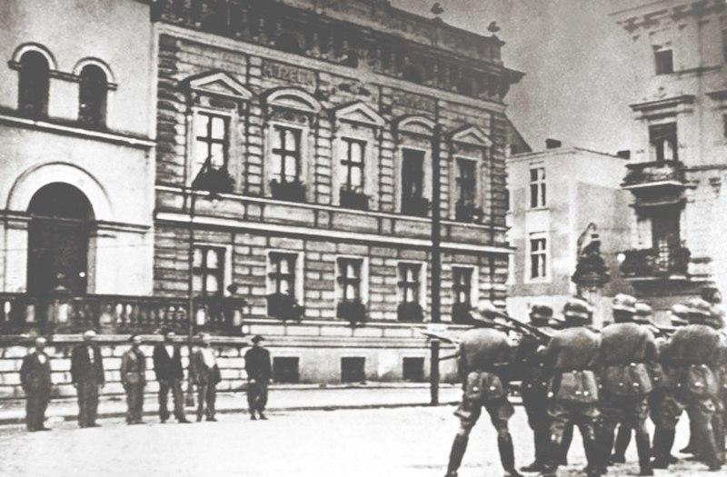 Расстрел заложников в Быдгощи. 9 сентября 1939 года.