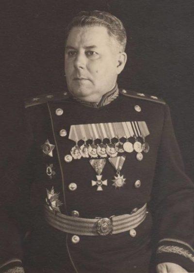 Генерал-лейтенант Свиридов. 1946 г.