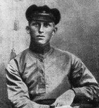 Красноармеец Иван Пересыпкин. 1919 г.