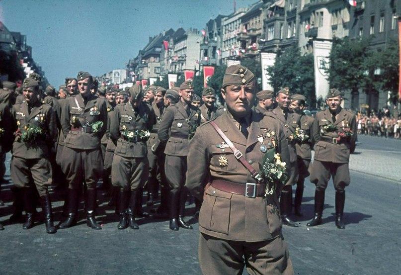 Немецкий легион «Кондор» после возвращения из Испании. 1939 г.