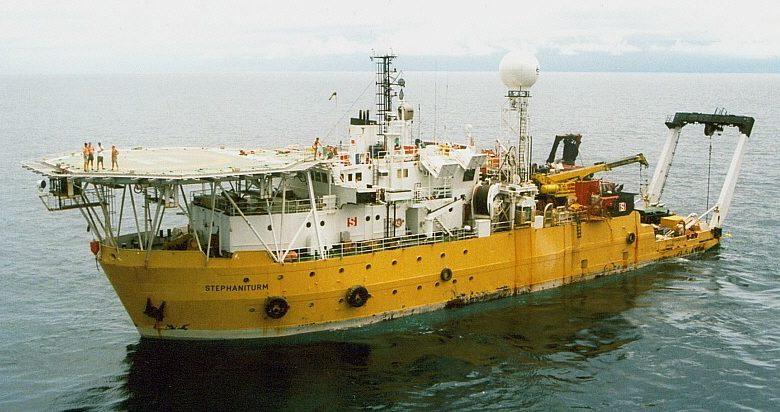 Специальное исследовательское судно «Stephaniturm».