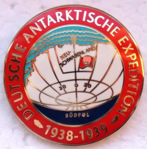 Знак-эмблема немецкой антарктической экспедиции 1938-1939 гг.