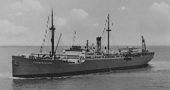 Корабль «Швабия».