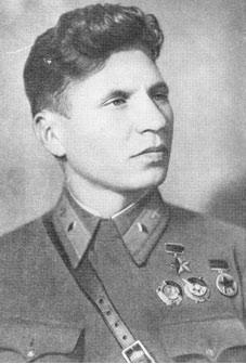 Федор Полынин после получения медали «Золотая Звезда Героя Советского Союза» за бои в Китае.