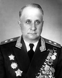 Генерал-лейтенант Перхорович на пенсии. 1961 г.