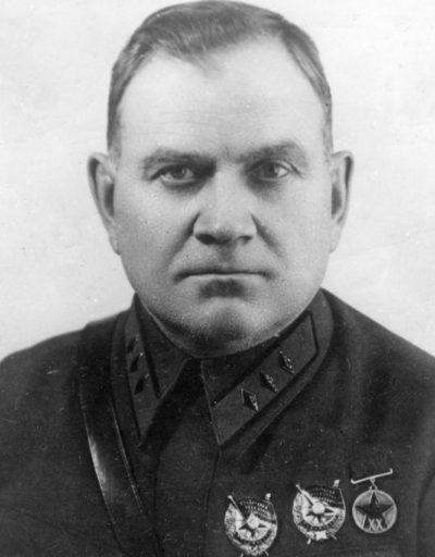 Комкор Хрулев. 1940 г.
