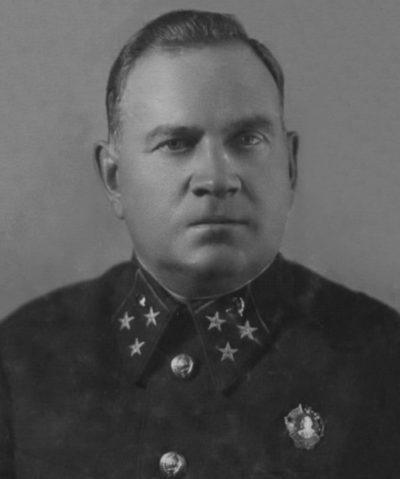 Генерал-лейтенант Хрулев. 1941 г.