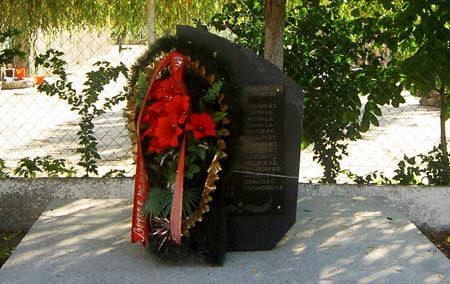 с. Ольгинка Туапсинского р-на. Памятник советским воинам.