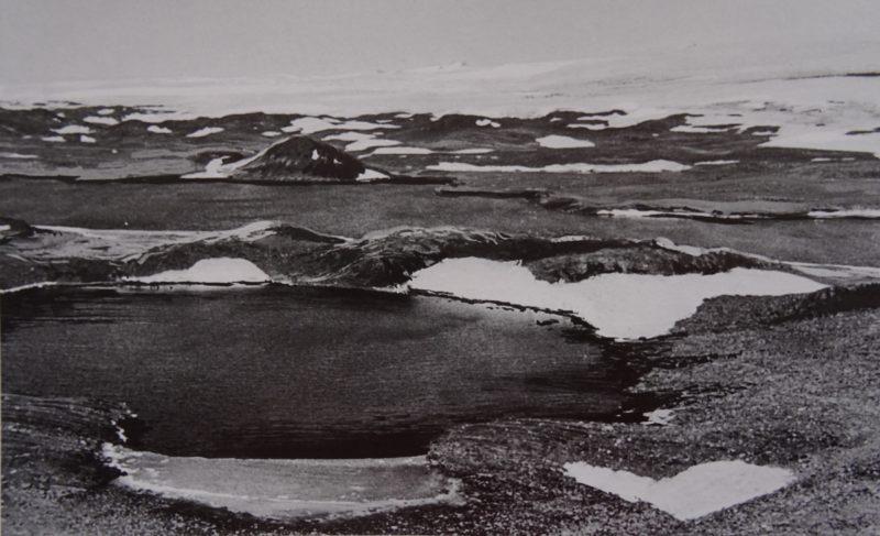 Оазис Ширмахера - первый снимок.