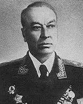 Генерал-лейтенант Собенников. 1955 г.