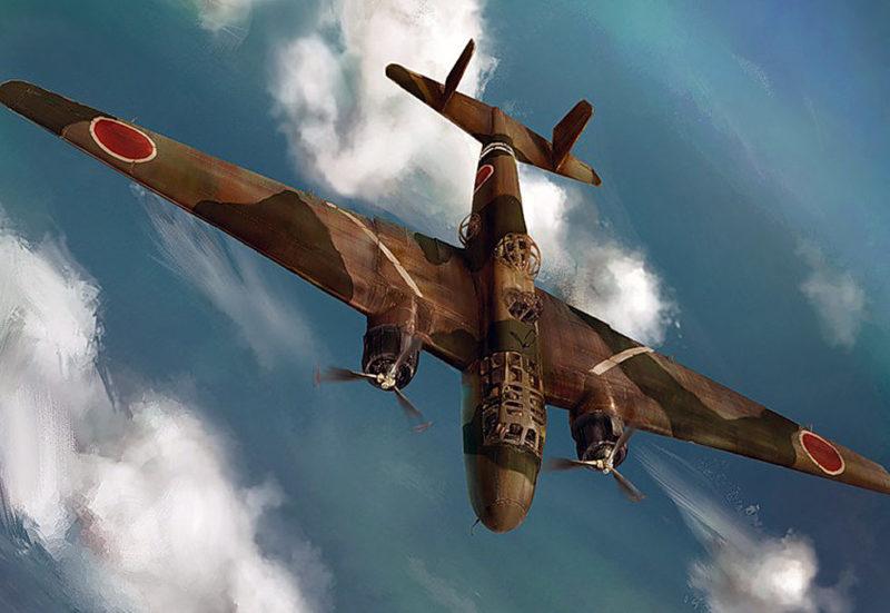 Бомбардировщик «Mitsubishi G3M2».